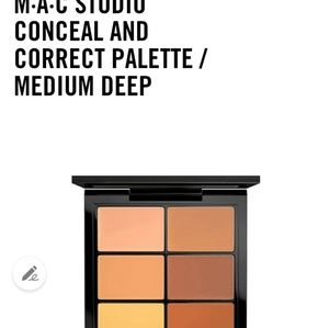 Mac conceal and correct pro palette (medium)